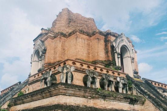 Thaïlande, Chiang Mai, Partie 1 : Éléphants et temples
