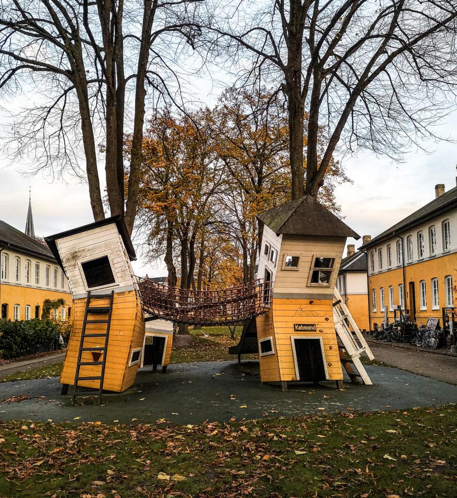 Terrain de jeux pour enfants à Østerbro