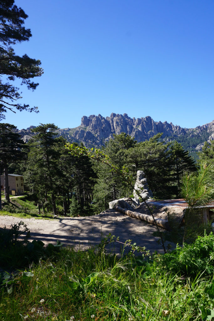 Randonnée Col de Finosa et Refuge de Paliri