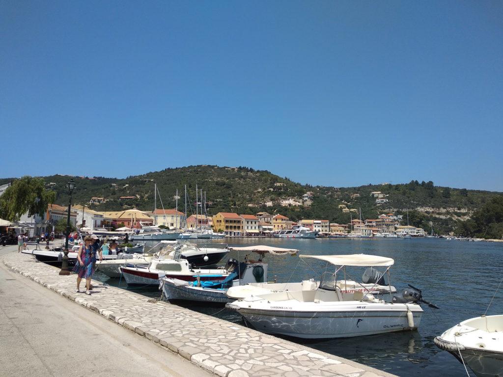 Port de Gaios à Paxos